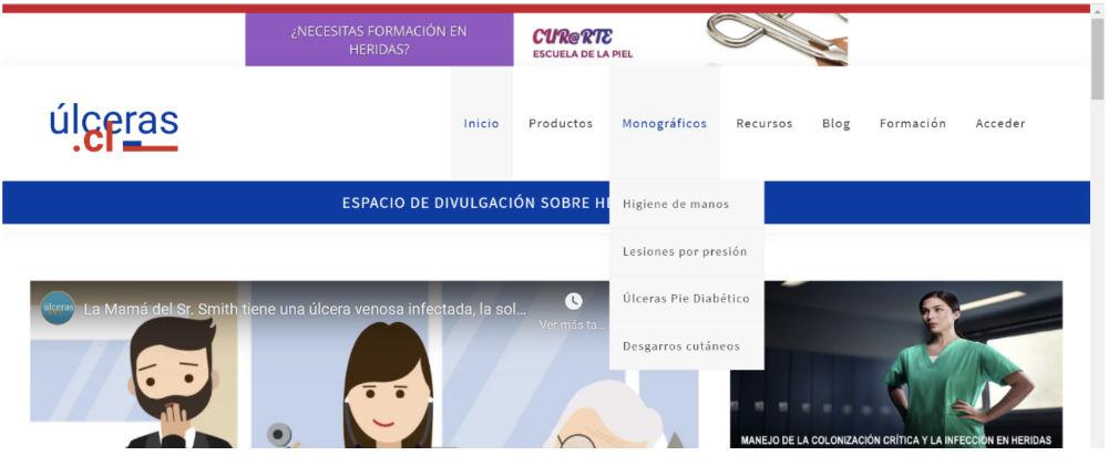Contenidos Web Ulceras.cl